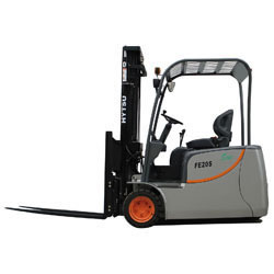 3 Wheel Electric Forklift Truck