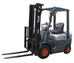 Petrol Engine Forklift, Gasoline Engine Forklift 1.5-1.8 Ton