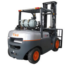 Petrol Engine Forklift, Gasoline Engine Forklift 4-5 Ton